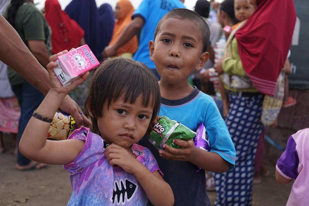 donasi untuk korban lombok komite kemanusiaan indonesia