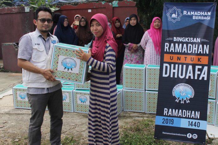 komite kemanusiaan indonesia bingkisan ramadhan untuk dhuafa