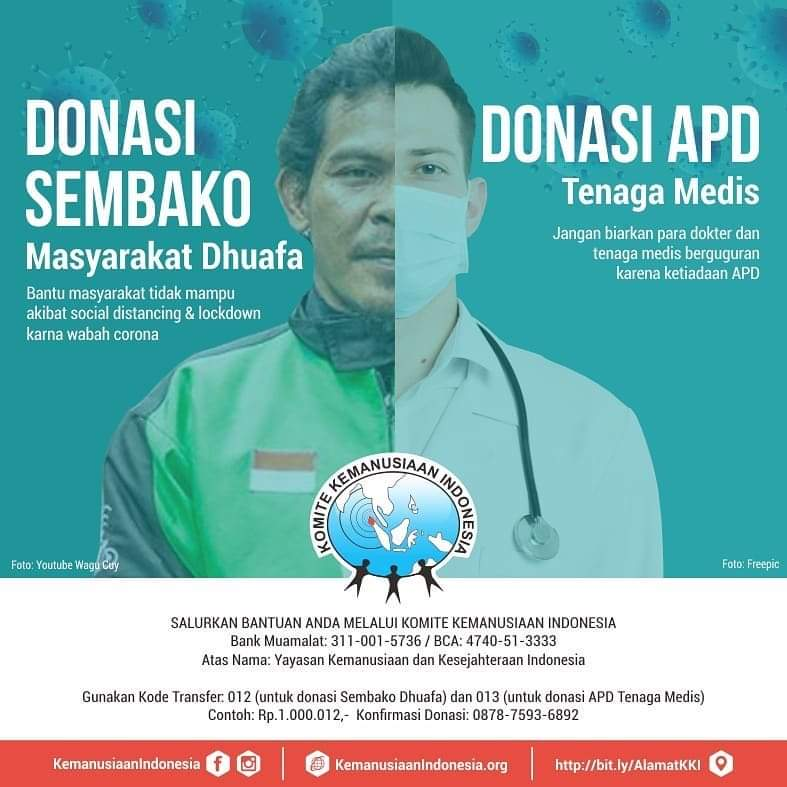donasi APD Tenaga Medis