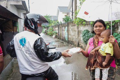 komite kemanusiaan indonesia makan buka puasa gratis