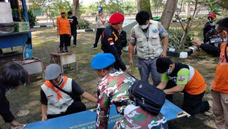 Relawan KKI Ikuti Simulasi Penanggulangan Bencana di Banten